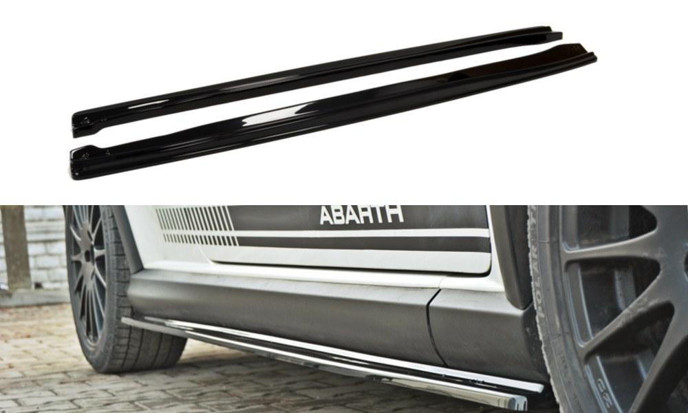 Dokładki Progów Fiat Grande Punto Abarth - GRUBYGARAGE - Sklep Tuningowy